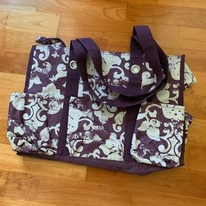 Thirty-One Zip Top Organizing Tote